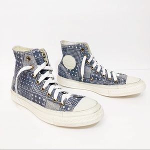 Converse High Tops Printed Shoes